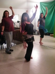 Belly dance workshop with Angela Buttrey